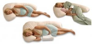 Подушка для беременных в форме буквы «L»