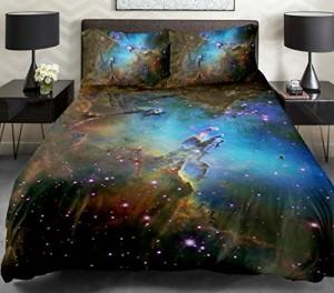 Космическое 3д постельное белье