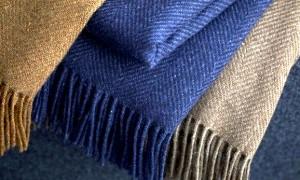 Кашемир или пух каширских коз - одеяло
