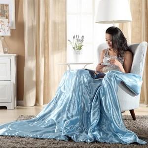 Уход за шелковым одеялом