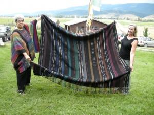 Одеяло из ламы