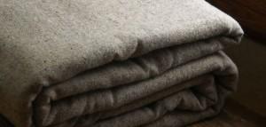Одеяло из шерсти ламы